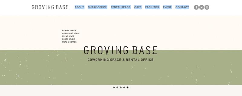 GROVING BASE